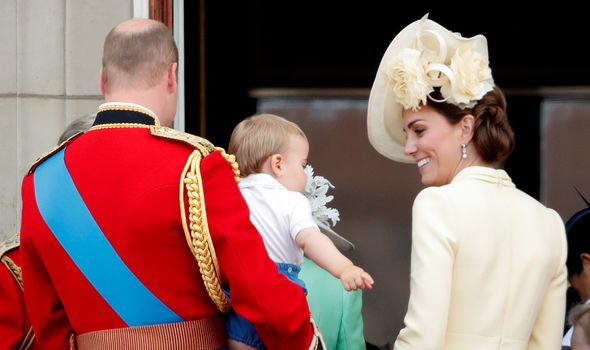 Kate Middleton pregnancy Kate may be making the most of Louis baby years Image GETTY