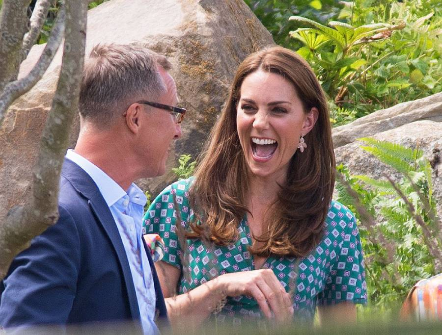 Kate Middleton shows off her Back to Nature garden at Hampton Court Palace Photo C GETTY IMAGES