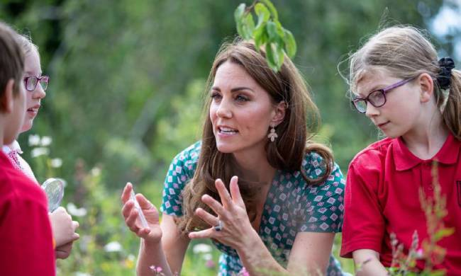 Kate Middletons garden had a special feature for Prince George Photo C Getty Images