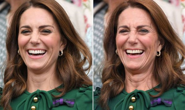 Kate the Duchess of Cambridge Image FaceApp GETTY