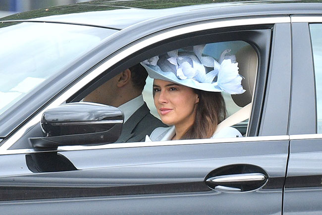 Lady Frederick Windsor also known as Sophie Winkleman pictured arriving Photo C GETT IMAGES