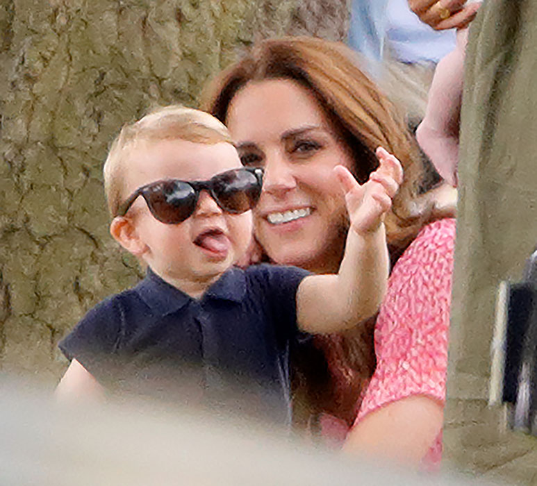 Louis is quickly becoming one of our favourite tiny royals Photo C GETTY IMAGES
