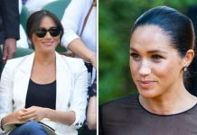 Meghan Markle's new hair style is secret trick to hide post pregnancy problem expert Image GETTY