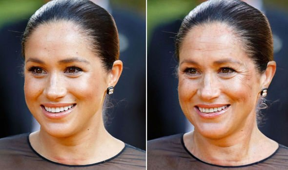 Meghan Markle Image FaceApp GETTY
