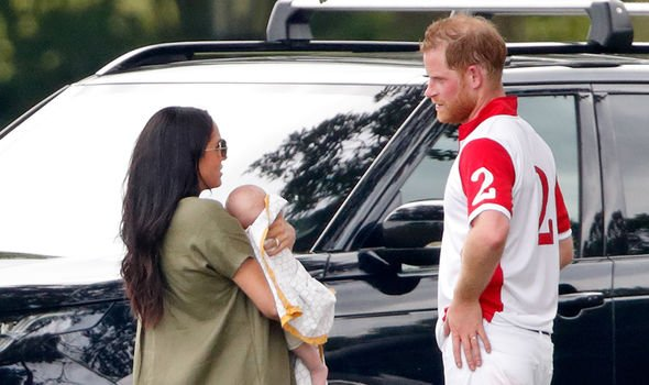 Meghan Markle and Harry have been criticised for keeping private about the christening Image GETTY