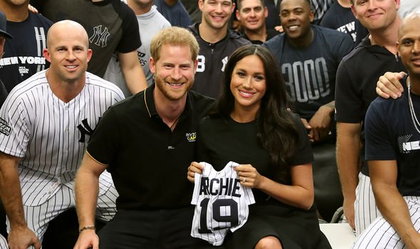 Meghan Markle and Prince Harry welcomed their son Archie less than a year after their wedding Image GETTY