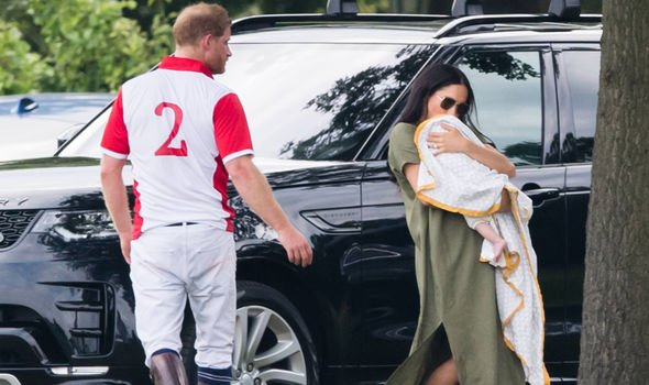 Meghan Markle has been attacked for how she held Archie Image Samir Hussein WireImage