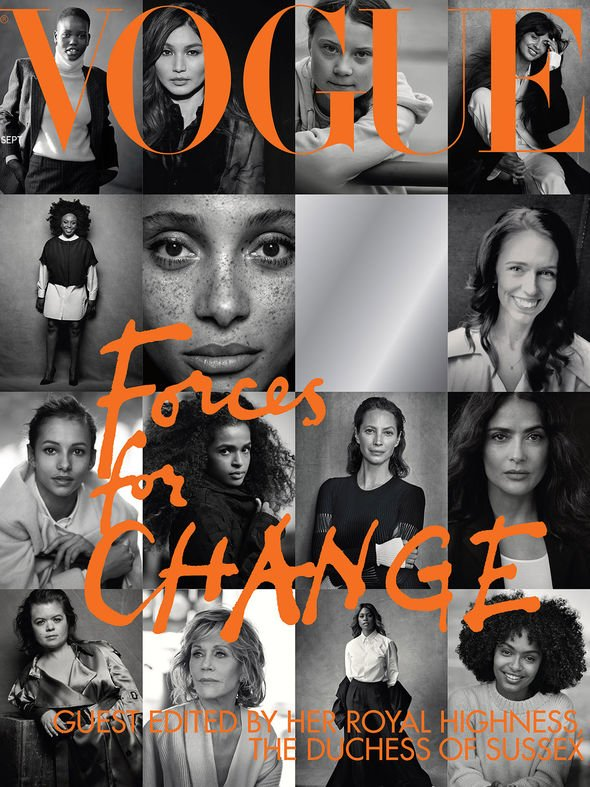 Meghan Markle has guest edited the September issue of Vogue Image Vogue