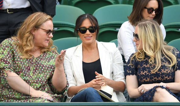 Meghan Markle made subtle hint at Wimbledon Image GETTY