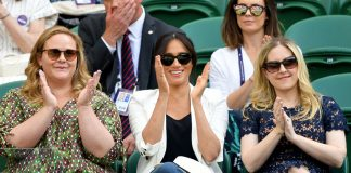 Meghan Markle makes surprise appearance at Wimbledon Image GETTY