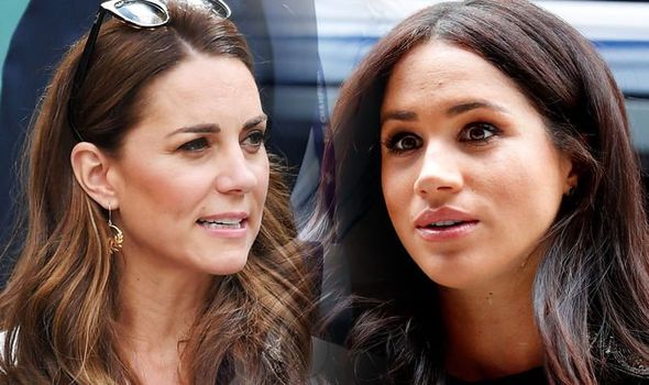 Meghan Markle might have ruined her relationship with Kate Middleton the first time they met Image GETTY