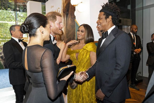 Meghan Markle news Chatting to Beyonce and Jay Z Image Getty