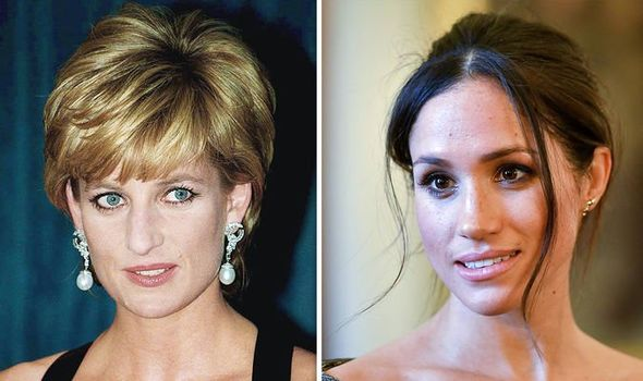 Meghan Markle news Diana would not have been ecstatic about the Duchess Lady Colin Campbell said Image GETTY