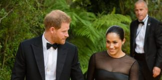 Meghan Markle news Meghan old one well wisher that she was on a date night with Harry Image Getty