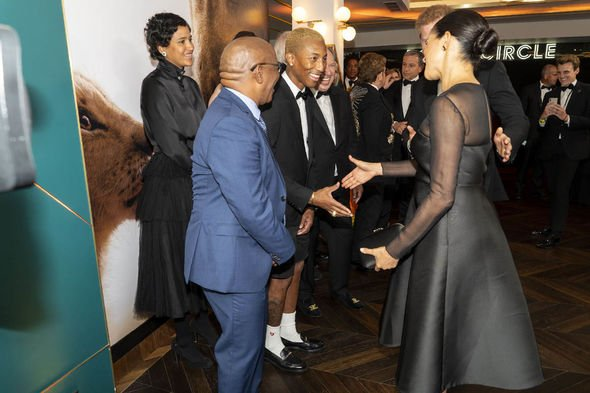 Meghan Markle news The conversation with Pharrell Williams Image Getty