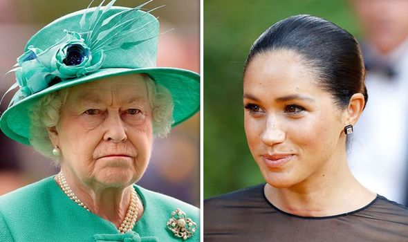 Meghan Markle news the Queen is reportedly not very happy with the decision Image Getty