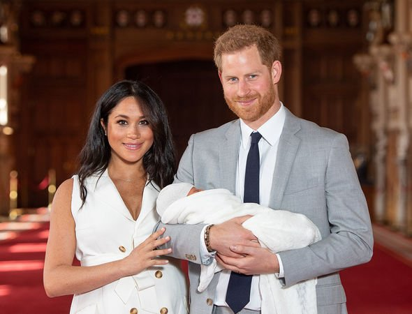 Meghan and Harrys baby Archie is being baptised today Image GETTY