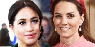 Meghan fans blasted Kate for her choice of earrings Image PA