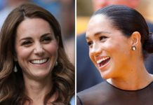 Meghan has a huge advantage over Kate according to former royal bodyguard Ken Wharfe Image GETTY