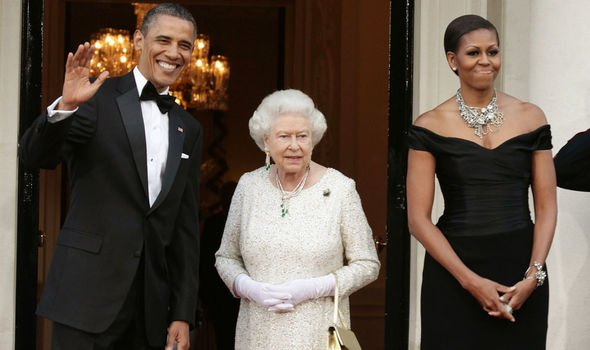 Michelle Obama has been voted the most admired woman in the world while Queen Elizabeth II Image GETTY