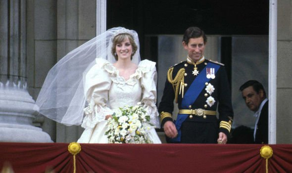 Millions of people around the world watched Prince Charles marry Lady Diana Spencer in Image GETTY