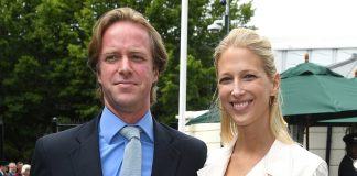 Newlyweds Lady Gabriella Windsor and Thomas Kingston look loved up a Wimbledon Photo C GETTY IMAGES