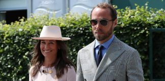 Pippa Middleton joins brother James at Wimbledon and WOWS in Stella McCartney Photo C GETTY IMAGES