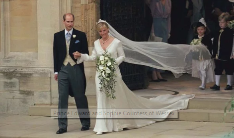 Prince Edward and Sophie Countess of Wessex celebrated years of marriage last month Image Getty