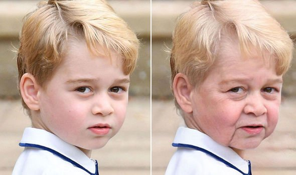 Prince George Image FaceApp GETTY