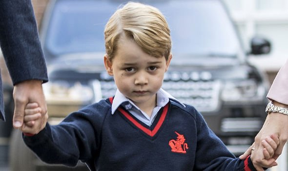 Prince George began attending St Thomas's in September Image GETTY