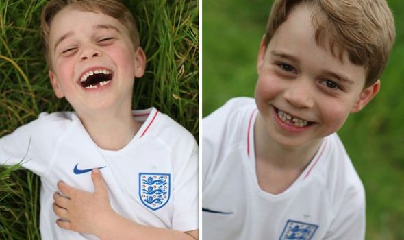 Prince George has been described as full of beans Image PA