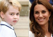 Prince George hugely admires Roger Federer Image GETTY