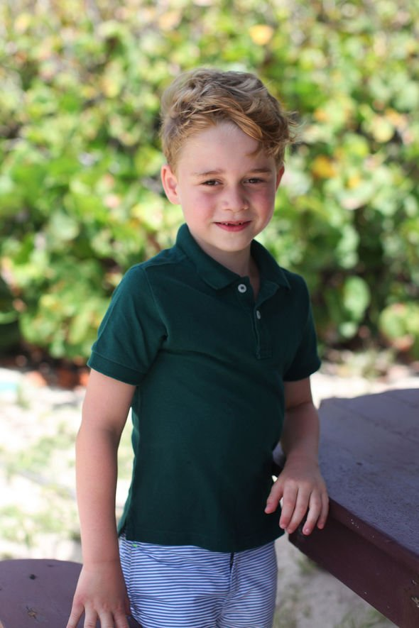 Prince George is encouraged to spend time outdoors Image PA