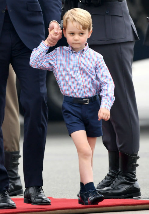Prince George will turn six next week Photo C GETTY IMAGES