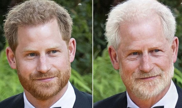 Prince Harry Image FaceApp GETTY