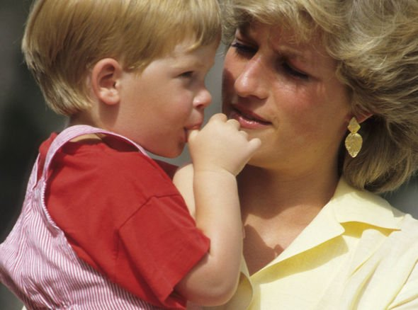 Prince Harry also sucked his thumb as a child Image GETTY