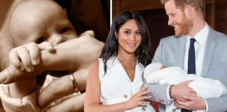 Prince Harry and Meghan Markle have been criticized about Archies reported christening plans Image GETTY