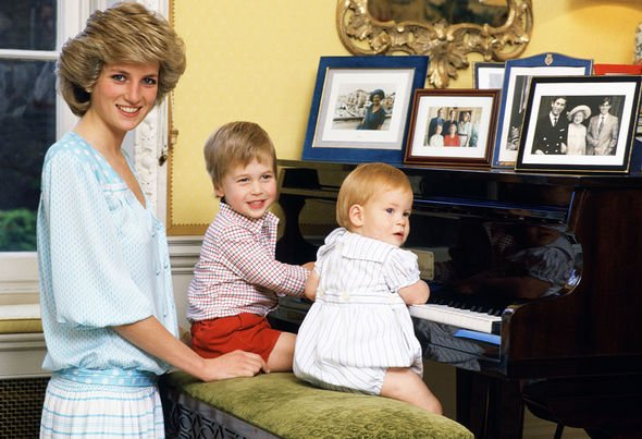 Prince Harry devastated The treatment of Harry left Diana very anxious Image GETTY