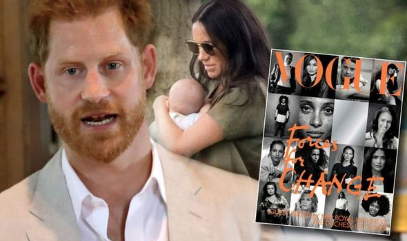 Prince Harry has revealed what he fears most for baby Archie Image Getty Peter Lindbergh Vogue
