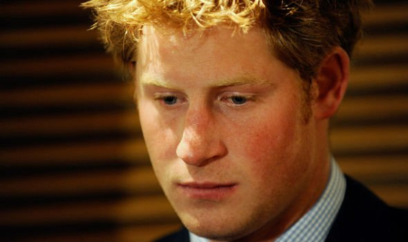 Prince Harry pictured in Image Getty