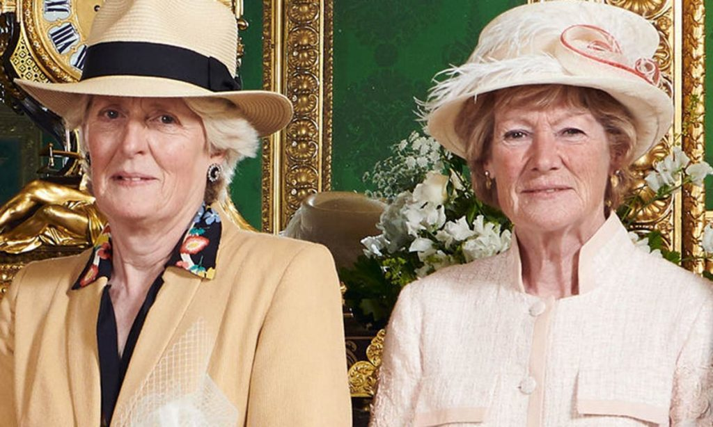 Prince Harry proves close bond with Princess Dianas sisters at Archies christening Photo C GETTY IMAGES