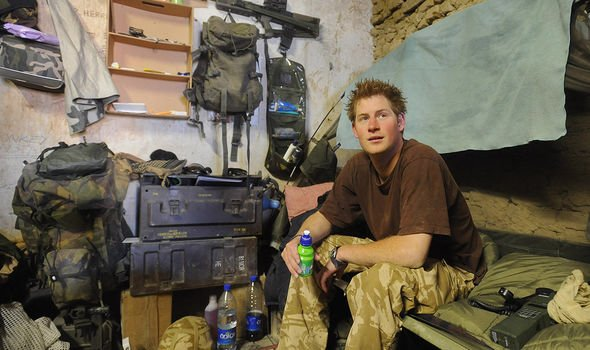 Prince Harry served in Afghanistan after being told he could not go to Iraq Image GETTY