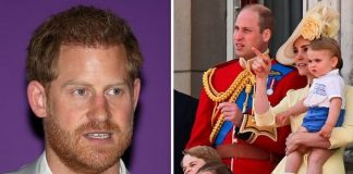 Prince Harry was envious of William and Kate Burrell claimed Image GETTY