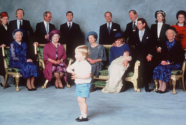 Prince Harrys christening in Photo C GETTY IMAGES