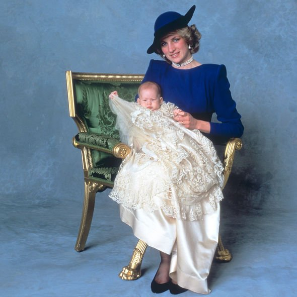 Prince Harrys christening photo shows similarities to his son Archies Image PA Archive