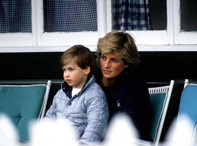 Prince William And Princess Diana Photo C Getty Images