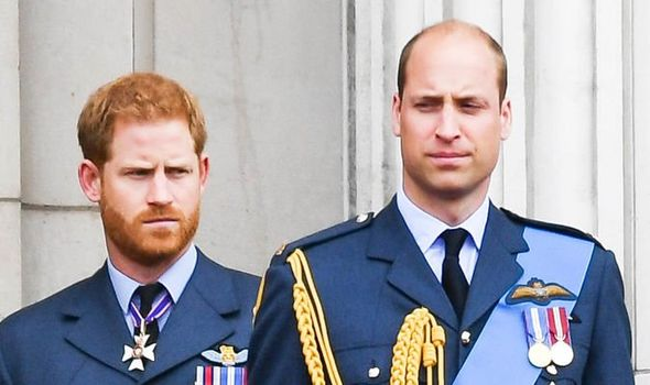 Prince William and Harry rift William and Harry were once thought to be the closest of brothers Image Getty