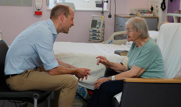 Prince William is President of the Royal Marsden NHS Foundation Image PA
