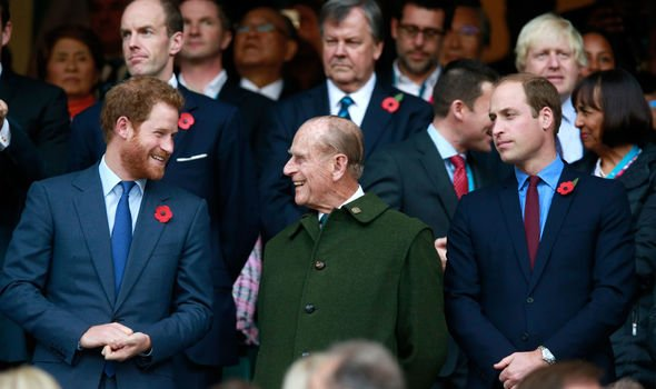 Prince William was cropped out Meghan and Harrys picture Image GETTY