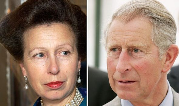 Princess Anne reportedly snub Charles and Diana by not attending Harrys christening in Image GETTY